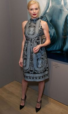 Kate Bosworth Is Party-Perfect In Erdem