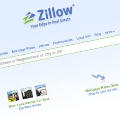 Zillow.com  Top 3 Websites Pinpointing Home Values