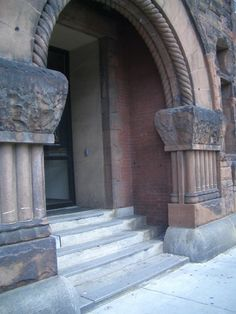 Entrance to 951 Boylston Street, Pre-Rennovation. #Boston #History