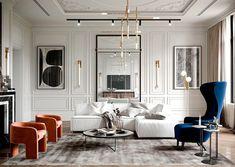 Apartment Interior, Home Interior, Luxury Interior, Interior Design Living Room, Living Room Designs, Design Room, Home Design, Bathroom Interior, Interior Ideas