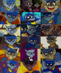 Sly Cooper. My most played character in Battle Royale.