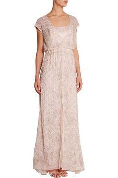 Luxus Abendkleid Von Needle&Thread Gr. 34 Neu Perlen Besticktes Kleid Hochzeit