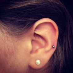 Auricle Piercing. I have one myself now