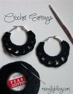 Free pattern Crochet Earrings - Crochet Me