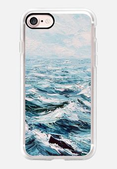 Casetify iPhone 7 Classic Grip Case - Deep Blue Sea by Ann Marie Coolick #Casetify
