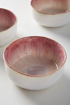 Borealis Bowl by Anthropologie in Pink, BowlsYou can find Ceramic bowls and more on our website.Borealis Bowl by Anthropologie in Pink, Bowls Ceramic Cafe, Ceramic Plates, Ceramic Decor, Pink Bowls, Plates And Bowls, Tea Bowls, Pottery Bowls, Ceramic Pottery, Slab Pottery