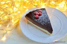 Tort trio de ciocolata reteta autentica pas cu pas | Savori Urbane Dessert Bars, Food Photography, Cheesecake, Pudding, Chocolate, Sweets, Gummi Candy, Cheesecakes, Custard Pudding