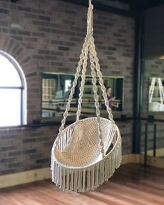 59 + Easy DIY Hammock Stand Plans & Ideas in 2019 – home accessories Diy Hammock, Hammock Swing Chair, Swinging Chair, Hammock Stand, Crochet Hammock, Hammock Ideas, Hammocks, Bedroom Hammock, Macrame Chairs