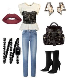 """Daily & sexy 💋"" by akcabeyza on Polyvore featuring moda, Nak Armstrong, Alexander Wang, Uniqlo, Chanel ve girlpower"