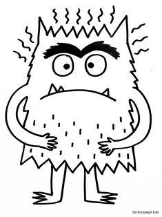 Montessori Activities, Book Activities, Emotions Preschool, Arte Elemental, Social Emotional Activities, Kindergarten Art Lessons, Monster Coloring Pages, Monster Book Of Monsters, Mindfulness For Kids