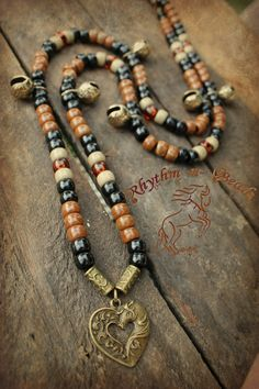 www.rhythm-n-bead... Natural horsemanship rhythm bead necklaces for horses.www.facebook.com/rhythmbeads.com