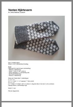 Fair Isle Knitting, Knitting Yarn, Knitting Patterns, Sewing Patterns, Knit Mittens, Knitted Gloves, Wrist Warmers, Hand Warmers, Textiles
