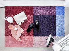 "Doormat ""mix berry"" designed by Kristine Five Melvær for Heymat"