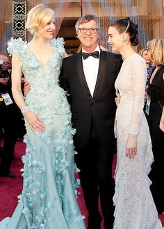Cate Blanchett, Rooney Mara and Todd Haynes at the 88th Annual Academy Awards. Feb 28, 2016.