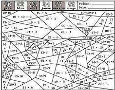 2 DOSSIERS de Travail autonome CP CE1 Coloriages magiques en maths et grammaire et Mots-mélés sur les sons | BLOG GS CP CE1 CE2 de Monsieur Mathieu NDL