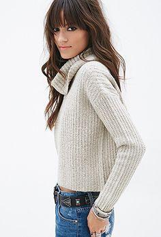 Boxy Turtleneck Sweater | Forever 21 - 2000058391