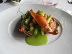 The Glamorous Gourmet: Guilty Pleasures: Alain Ducasse's Le Jules Verne in Paris!
