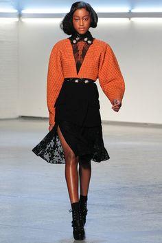 Rodarte Fall 2012 Ready-to-Wear Fashion Show Collection