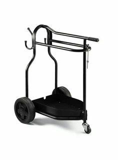 Foldable saddle trolley