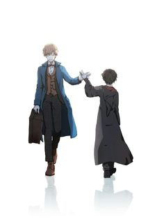 Harry potter and newt scamander