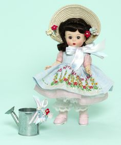 """Madame Alexander Mary, Mary Quite Contrary 8-inch Collectible Doll with Watering Can - 8"""" Wendy/Maggie/Jack"""