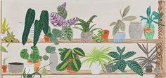 Jonas Wood, 'Shelf (Highline Proposal),' 2013, Gagosian Gallery