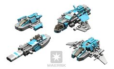BRIX Micro Space MAERSK Escort Ships V1.0 | A random collect… | Flickr