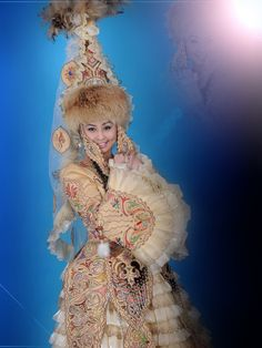 Costume of Kazakhstan #Kazakhstan #National #Costume