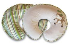 Baby Shower Gift Ideas - Boppy Nursing Pillow - I love this thing!! Features a hard and soft side so Mom can choose which one is right for her and baby!
