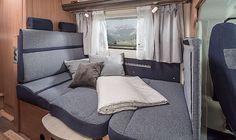 SKY TRAVELLER 650 DG SL Interieur Zusatzbett