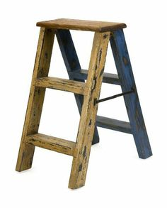 """Authentic Recycled Mahogany Wood Decorative Ladder by XoticBrands. $74.66. 90% Mahogany, 10% Brass. Item weight: 13.22Lbs. Dimensions: (22.5""""h x 13.5""""w x 5.75""""). Furniture. The Samanea decorative ladder is made of reclaimed wood gathered from boats, houses and naturally fallen trees. Each piece adds an authentic, unique touch to any decor."""
