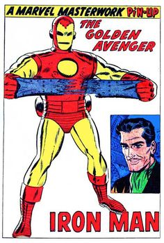 Y'know what would be awesome? Robert Downey, Jr. in an ascot in Avengers 2. *That* would be awesome.    Iron Man, art by Don Heck
