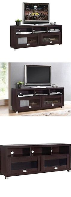 Entertainment Units TV Stands: Tv Stand Entertainment Center Media Furniture  Storage Cabinet Home Theater White  U003e BUY IT NOW ONLY: $51.84 On EBay!