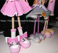 Fofuchas hechas por mi:)¿Quieres una?Yo te la hago con mucho gusto:)