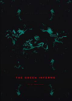The Green Inferno (2013) ~ Minimal Movie Poster by Daniel Barkle #amusementphile