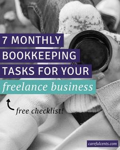 Accounting isn't sexy, and neither is keeping up with your monthly business bookkeeping.  That's why you hire an accountant, right? Yes, but it's still important to understand HOW your freelance finances work. Download the FREE bookkeeping checklist so you can be confident about your money and keep things moving smoothly.
