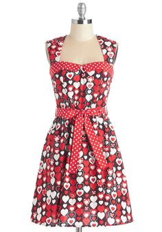 Plus Sizes - Sweet Your Heart Out Dress