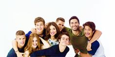 Tyler Posey/Daniel Sharman/Max & Charlie Carver/Tyler Hoechlin/Dylan O Brien/Crystal Reed/Holland Roden