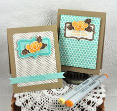 Fillable Frames cards by Dawn McVey for PTI (Feb. 2012)