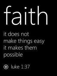 based on luke 1:37, for nothing is impossible with God,