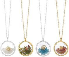 Catherine Weitzman Four Seasons Glass Necklaces