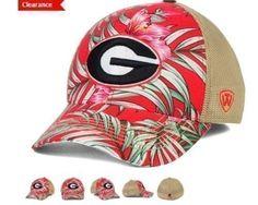 save off 9666e 23273 Georgia Bulldogs Top of The World NCAA Shore Stretch Cap Hat One Size   eBay