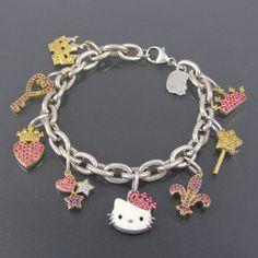 Designer Kimora Lee Simmons Hello Kitty Sanrio Charm by GemCulture