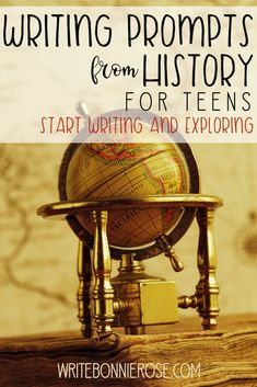 FREE Writing Prompts from History for Teens. Five new writing prompts from history for teens posted. Come check them out! Writing Prompts Funny, Writing Prompts For Kids, Picture Writing Prompts, Writing Skills, Free Homeschool Curriculum, Homeschool High School, Homeschooling, Science Student, Teaching History