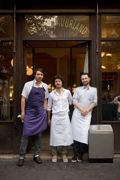 See inside the 50 best restaurants in the world: 21. Le Chateaubriand, Paris, France