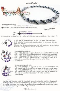 Seed bead jewelry Elfenatelier - Spiral ~ Seed Bead Tutorials Discovred by : Linda Linebaugh Beaded Necklace Patterns, Seed Bead Patterns, Beading Patterns, Bead Jewellery, Seed Bead Jewelry, Jewellery Shops, Jewelry Findings, Jewelry Stores, Seed Beads