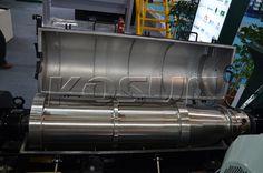 the interior of KOSUN decanter centrifuge bowl, proving high quality. http://www.xakx.com/solids-control-equipment/decanter-centrifuge/