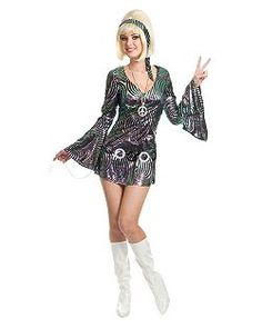 Disco Diva | Cheap Disco Halloween Costume for Women