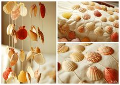 Shell mobile from Cebu. My mom & dad got one of these for a wedding gift (: Cebu, Get One, Mom And Dad, Sea Shells, Dorm, Wedding Gifts, Baby Shower, Bedroom, Create