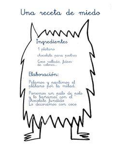 """1ª Sesión: Presentación del miedo y del color negro.   Leemos la parte correspondiente al miedo del libro """"El monstruo de colores"""". ... Monster Activities, Farm Activities, Motor Skills Activities, Yoga For Kids, Art For Kids, Psychology Clinic, Social Emotional Learning, Activity Sheets, Preschool Classroom"""